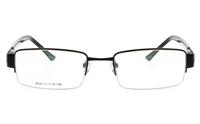 Dolce Luxy 6626 Stainless Steel Semi-rimless Unisex Optical Glasses