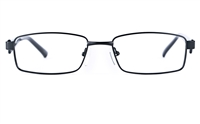 Poesia 6629 Unisex Rectangle Full Rim Optical Glasses