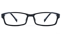 Poesia 3027 Unisex Rectangle Full Rim Optical Glasses
